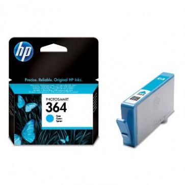 Консуматив HP 364 Cyan Original Ink Cartridge за мастиленоструен принтер