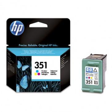 Консуматив HP 351 Tri-color Original Ink Cartridge за мастиленоструен принтер