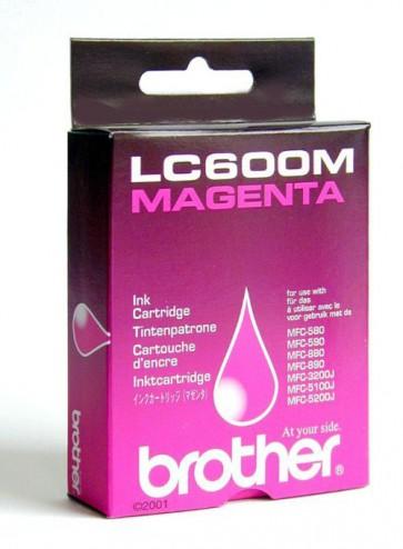 Консуматив Brother LC600M Magenta Ink Cartridge за мастиленоструен принтер