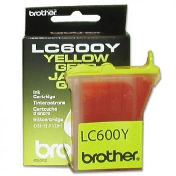 Консуматив Brother LC600Y Yellow Ink Cartridge за мастиленоструен принтер