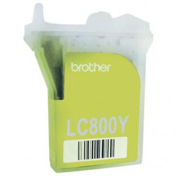 Консуматив BROTHER LC800Y за мастиленоструен принтер