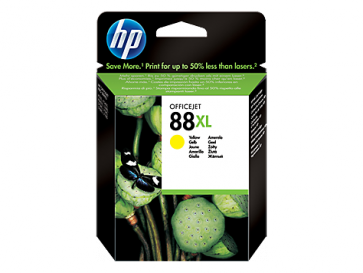 Консуматив HP 88XL High Yield Yellow Original Ink Cartridge за мастиленоструен принтер
