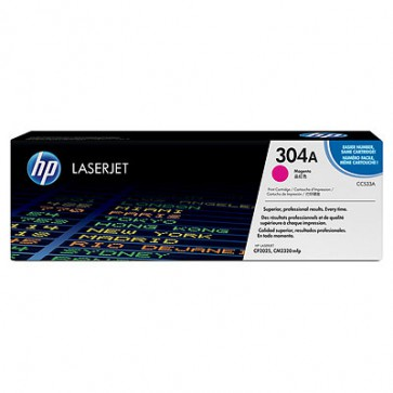 Консуматив HP 304A Magenta LaserJet Toner Cartridge за лазерен принтер