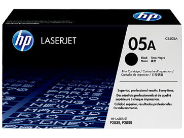 Консуматив HP 05A Black LaserJet Toner Cartridge за лазерен принтер