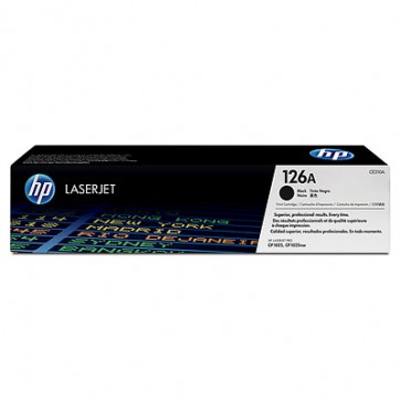 Консуматив HP 126A Black LaserJet Toner Cartridge за лазерен принтер