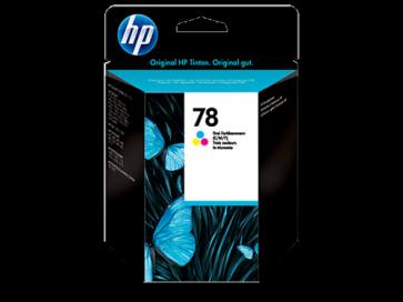 Консуматив HP 78 Tri-color Original Ink Cartridge за мастиленоструен принтер