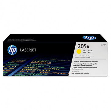 Консуматив HP 305A Yellow LaserJet Toner Cartridge за лазерен принтер