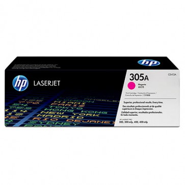 Консуматив HP 305A Magenta LaserJet Toner Cartridge за лазерен принтер
