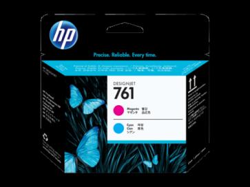 Консуматив HP 761 Magenta/Cyan Designjet Printhead за плотер