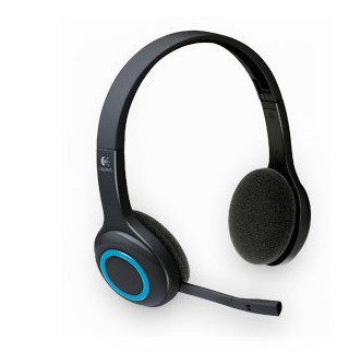 Слушалки Logitech Wireless Headset H600