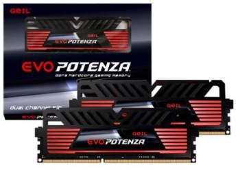 Памет GEIL  2X4GB, DDR3, 2400Mhz, POTENZ