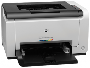 Принтер  HP LaserJet Pro CP1025nw Color Printer
