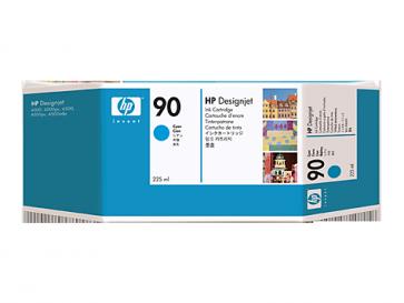 Консуматив HP 90 225-ml Cyan Ink Cartridge EXP