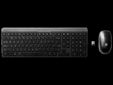 Клавиатура и мишка HP 2.4 GHz Wireless Keyboard and Mouse