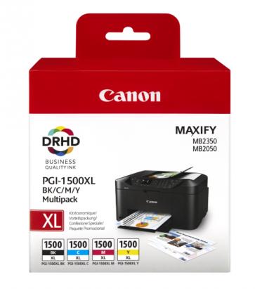 Canon PGI-1500XL Ink Cartridge Multipack