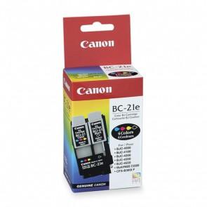 Консуматив Canon BC-21E Black, Color and Printhead Original Inkjet Cartridge за мастиленоструен принтер