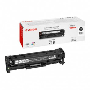 Консуматив CANON 718 BLACK 3a Лазерен Принтер