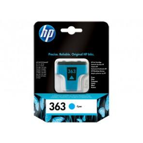 Консуматив HP 363 Cyan Original Ink Cartridge за мастиленоструен принтер