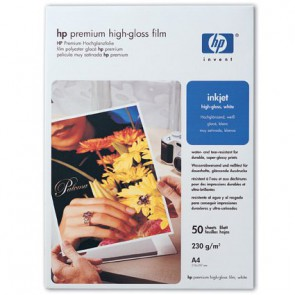Консуматив HP Premium High-gloss White Film-50 sht/A4/210 x 297 mm