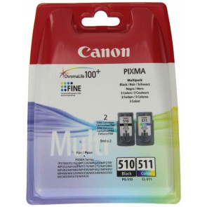 Консуматив Canon PG-510/CL-511 BK/C/M/Y Ink Cartridge Multipack