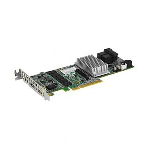 Supermicro AOC-S3108L-H8IR-16DD Low Profile 12Gb/s Eight-Port SAS Internal RAID Adapter
