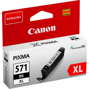 Консуматив Canon CLI-571XL High Yield Black Ink Cartridge