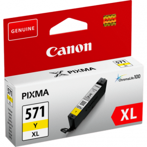 Консуматив Canon CLI-571XL High Yield Yellow Ink Cartridge