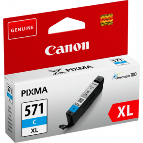 Консуматив Canon CLI-571XL High Yield Cyan Ink Cartridge