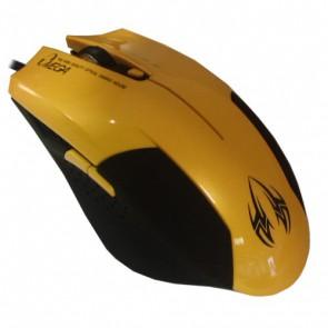 Мишка OMEGA 6D OPT GAMING USB Yellow