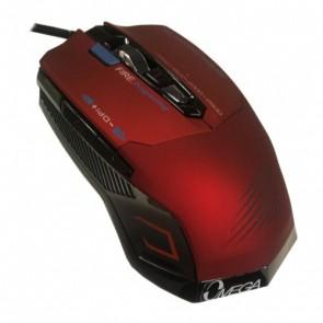 Мишка OMEGA 7D 293 GAMING USB Black-Red