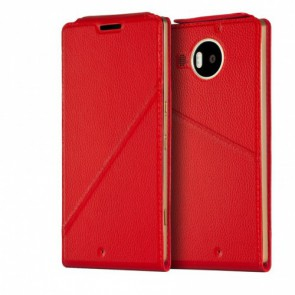 Калъф Notebook flip cover for Lumia 950 XL (red)