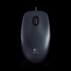 Мишка LOGITECH M90 USB Black