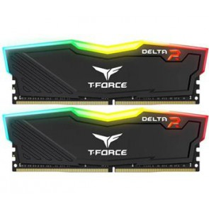 Памет 2X8GB DDR4 2666 TEAM DELTA R BL