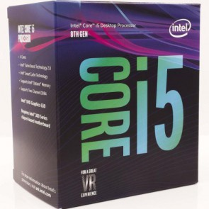 Процесор Intel Core i5-8600 Processor 9M Cache, up to 4.30 GHz, BOX/1151