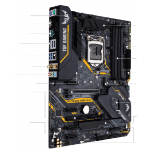 Дънна платка ASUS TUF Z390-PLUS GAMING WI-F