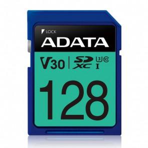 Флаш карта ADATA 128GB SDXC UHS-I U3 V30S