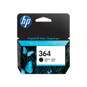 Консуматив HP 364 Black Original Ink Cartridge за мастиленоструен принтер