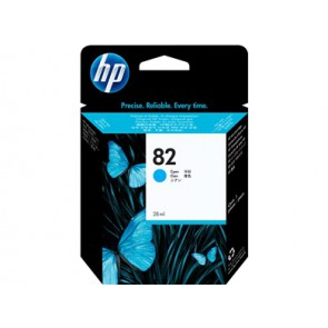 Консуматив HP 82 28-ml Cyan Ink Cartridge EXP