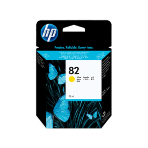 Консуматив HP 82 28-ml Yellow Ink Cartridge EXP