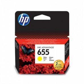 Консуматив HP 655 Yellow Original Ink Advantage Cartridge за мастиленоструен принтер