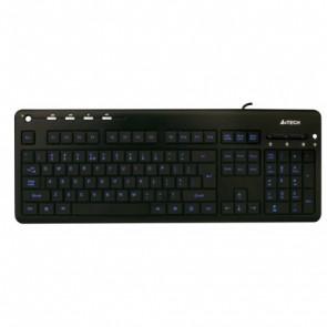 Клавиатура A4 Tech KD-126 X-SLIM LED BLACK USB