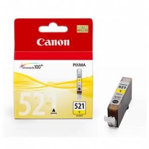 Консуматив Canon Cartridge CLI-521Y за Мастиленоструйни Принтери