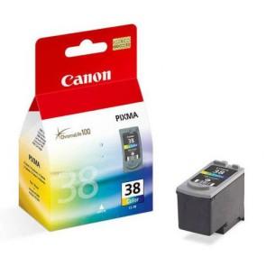 Консуматив Canon CL-38 Colour Fine Ink Cartridge за мастиленоструен принтер
