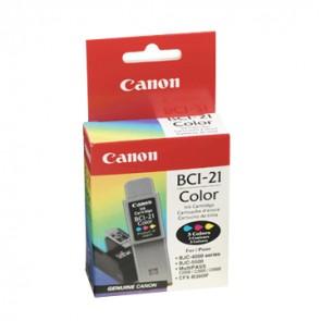 Консуматив Canon BCI-21 Color Inkjet Cartridge за Мастиленоструйни Принтери
