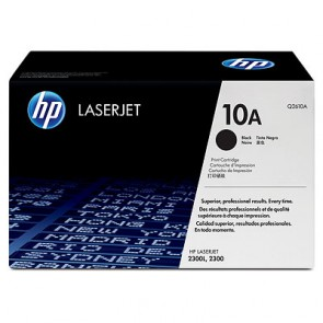 Консуматив HP 10A Black LaserJet Toner Cartridge лазерен принтер