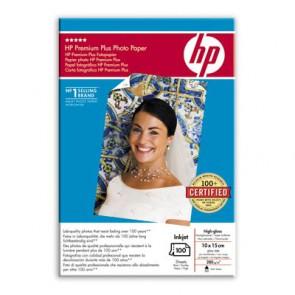 Фото Хартия HP Premium Plus High-gloss Photo Paper-100 sht/10 x 15 cm