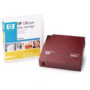 Консуматив HP LT-O2 Ultrium 400GB data cartridge