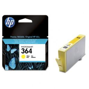 Консуматив HP 364 Yellow Original Ink Cartridge за мастиленоструен принтер