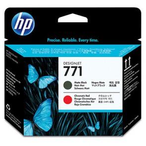 Консуматив HP 771 Matte Black/Chromatic Red Designjet Printhead