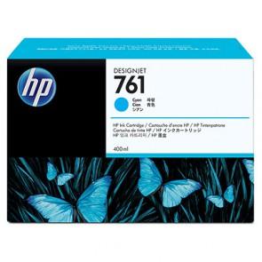 Консуматив HP 761 400-ml Cyan Designjet Ink Cartridge за плотер